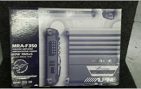 Alpine MRA-F350 5-Channel