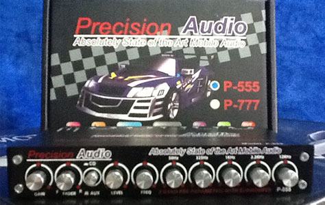 Precision Audio Electronic Crossover P-555