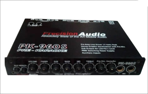 Precision Audio Electronic Crossover PK-960S
